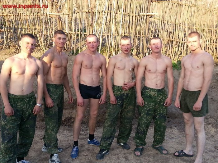 гей армия в бане